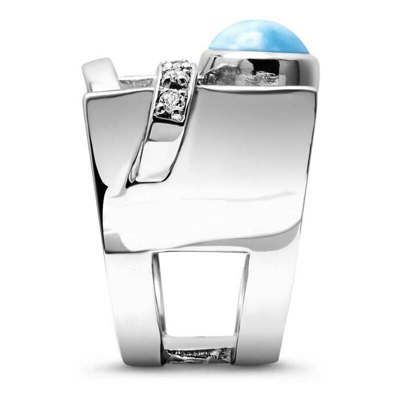 marahlago larimar Dante Larimar Ring jewelry