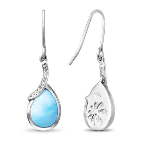 Daria Larimar Earrings