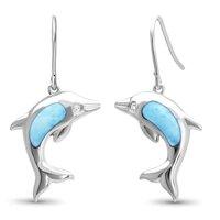 marahlago Dolphin Larimar Earrings