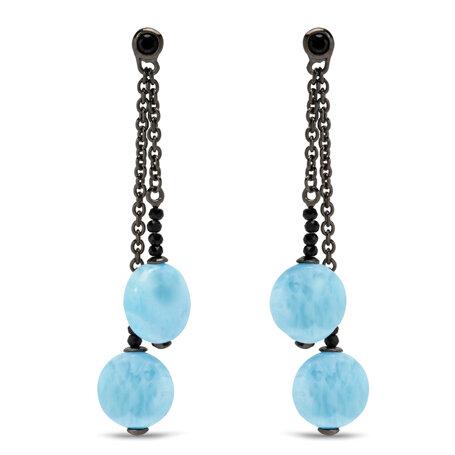 marahlago larimar Galaxy Larimar Earrings jewelry