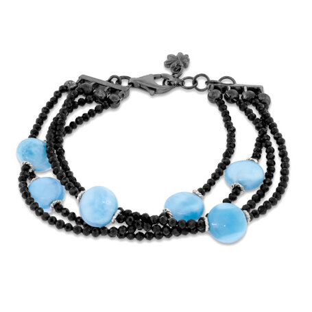marahlago larimar Galaxy Larimar Bracelet jewelry