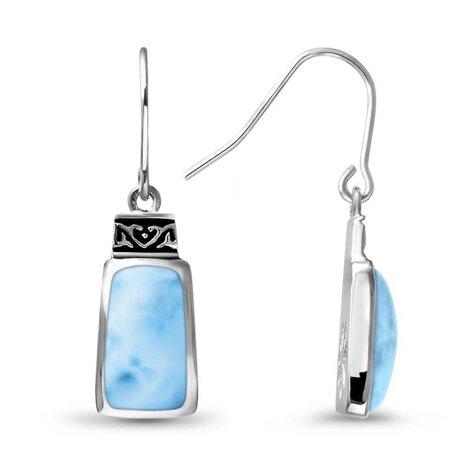 marahlago larimar Hanna Larimar Earrings jewelry