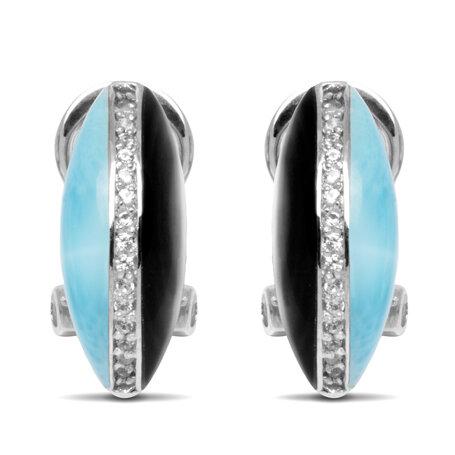 marahlago larimar Horizon Larimar Earrings jewelry