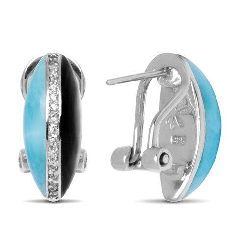 Horizon Larimar Earrings