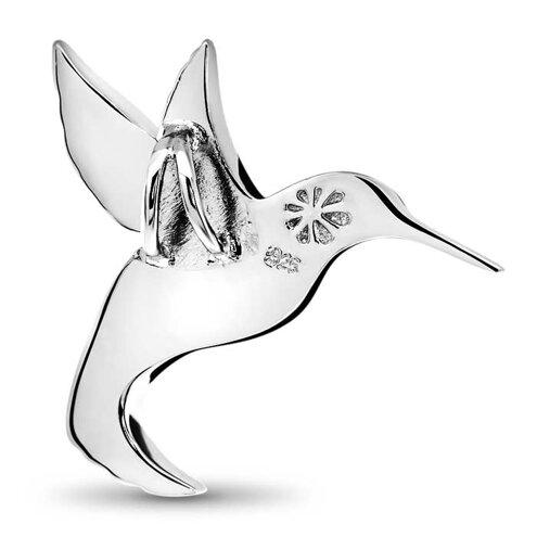 Hummingbird Larimar Necklace