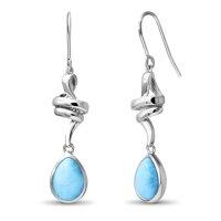 marahlago Hydra Larimar Earrings
