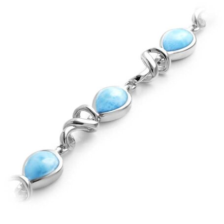 marahlago larimar Muse Larimar Bracelet jewelry