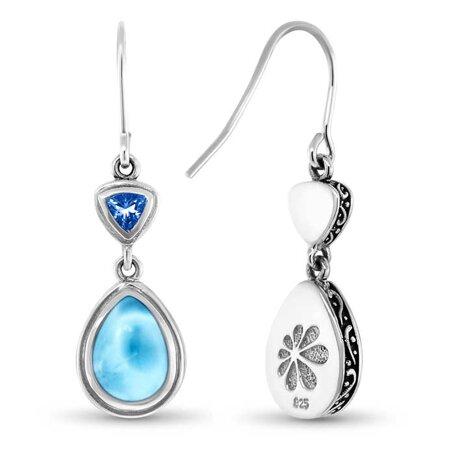 marahlago larimar Ilona Larimar Earrings jewelry