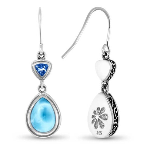 Ilona Larimar Earrings