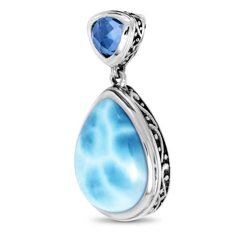 marahlago larimar Ilona Larimar Necklace jewelry