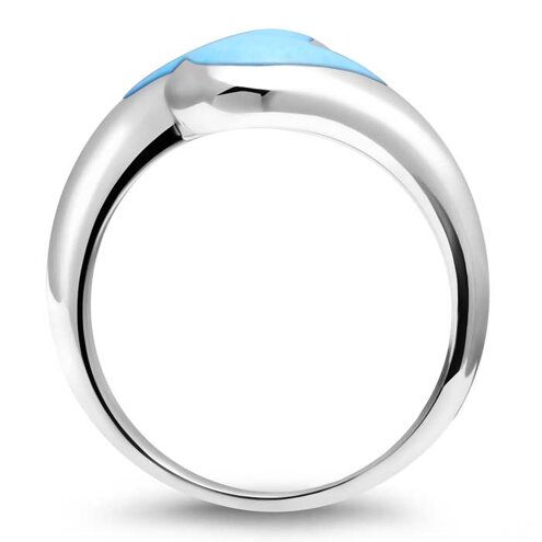 Indra Larimar Ring
