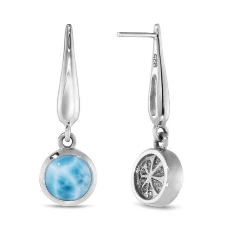marahlago larimar Liquido Larimar Earrings jewelry