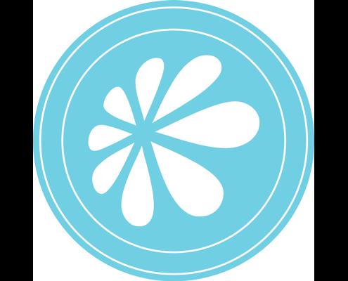 ML Logo Larimar Necklace