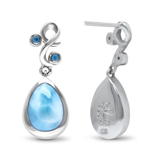 Lyric Larimar Earrings