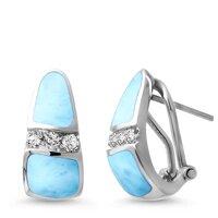 marahlago Marina Larimar Earrings
