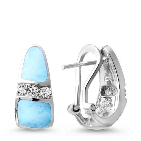 Marina Larimar Earrings