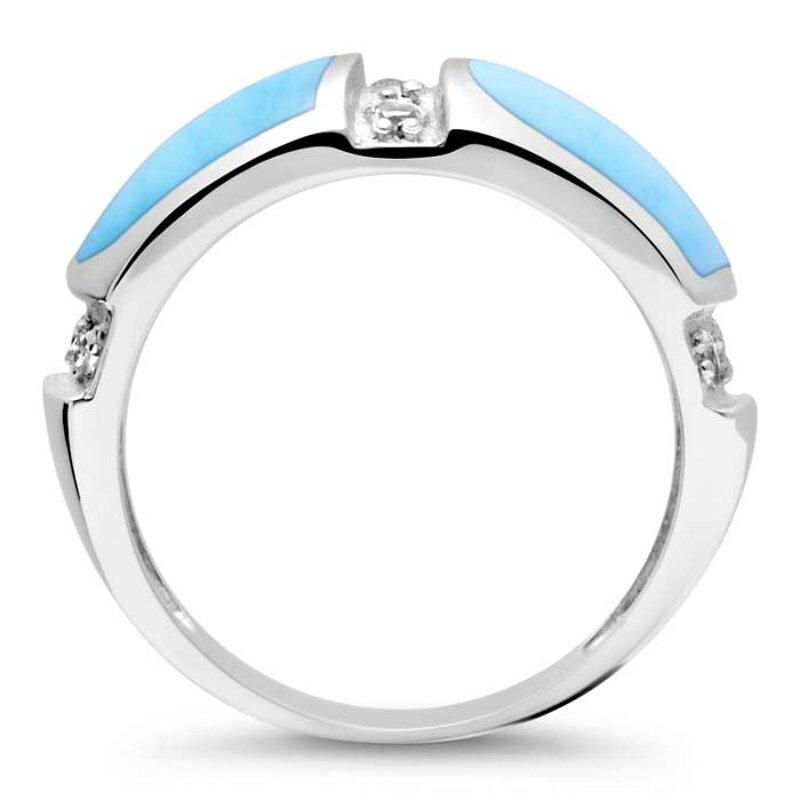 marahlago larimar Marina Larimar Ring jewelry