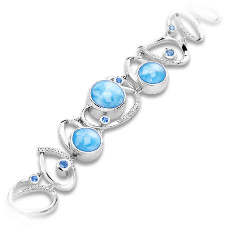marahlago larimar Mia Larimar Bracelet jewelry