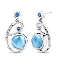 marahlago Mia Larimar Earrings