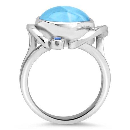 marahlago larimar Mia Ring jewelry
