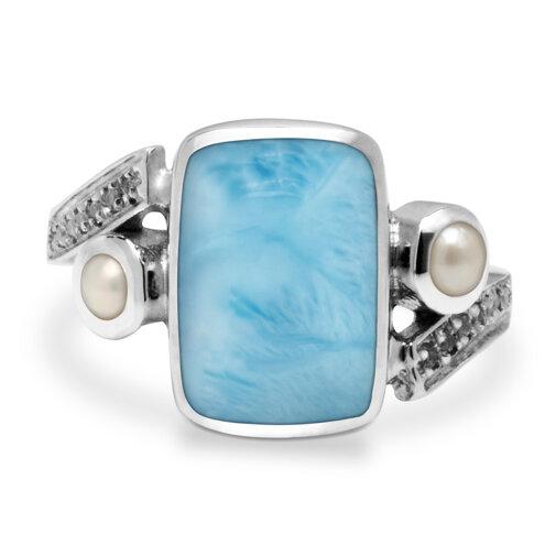 Mirage Larimar Ring