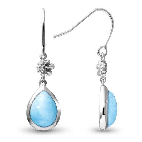 marahlago larimar ML Logo Larimar Earrings jewelry