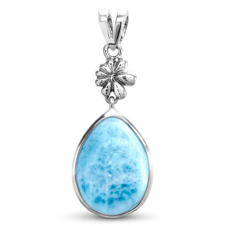 marahlago larimar ML Logo Larimar Necklace jewelry