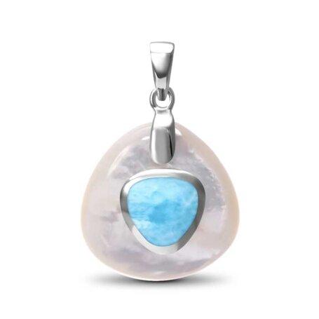 marahlago larimar Nadia Larimar Necklace jewelry