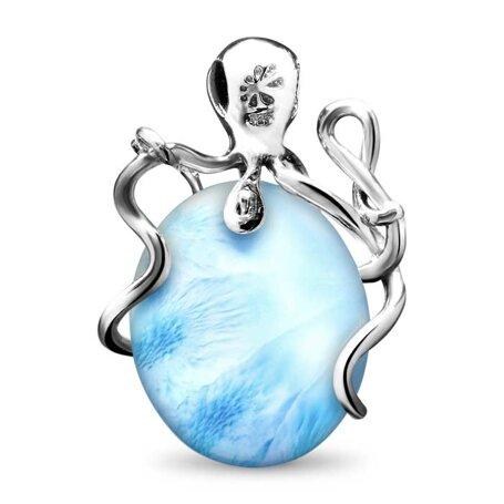 marahlago larimar Octopus Necklace jewelry