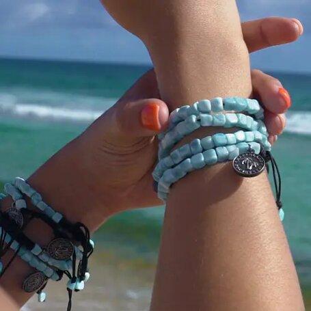 marahlago larimar Island Breeze Bracelets jewelry
