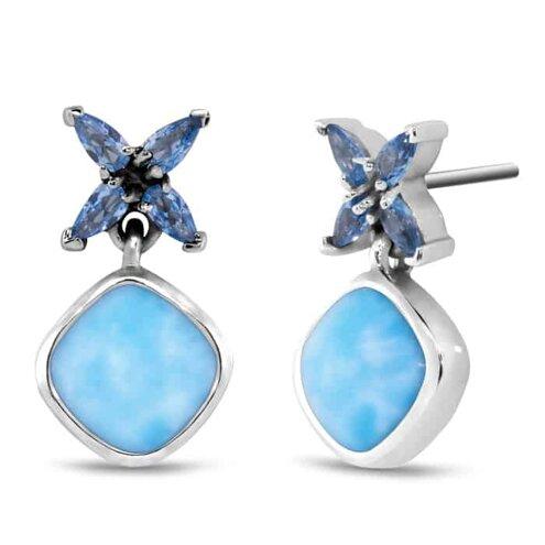 Papillon Larimar Earrings