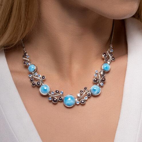 Seascape Lg. Necklace