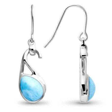marahlago larimar Seduction Larimar Earrings jewelry