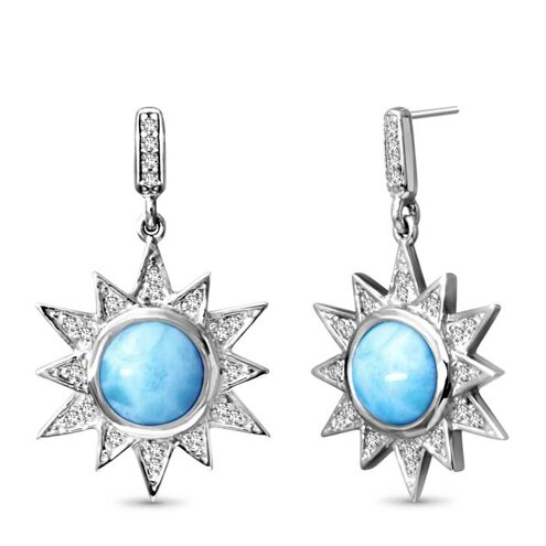 Solstice Larimar Earrings
