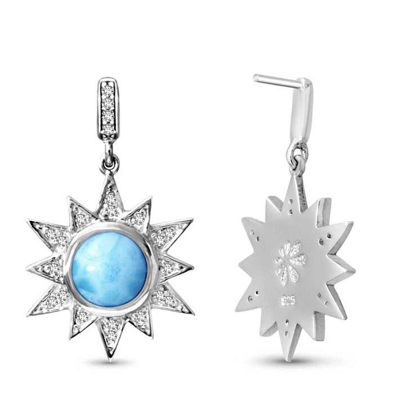 marahlago larimar Solstice Larimar Earrings jewelry
