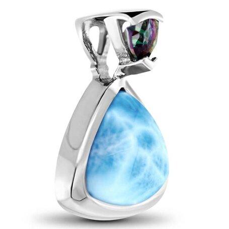 marahlago larimar Spectral Larimar Necklace jewelry