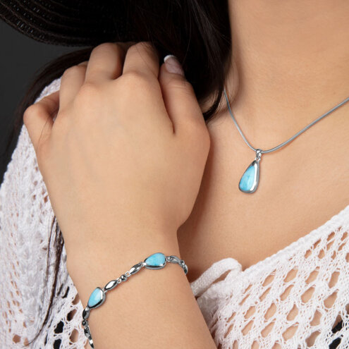 Cheyenne Larimar Bracelet