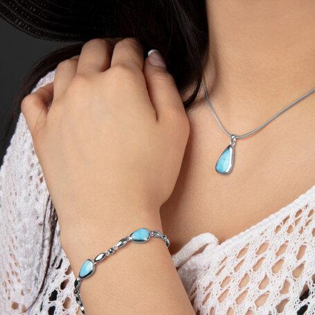 marahlago larimar Cheyenne Larimar Necklace jewelry