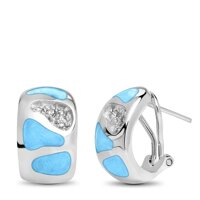 marahlago Surf Larimar Earrings