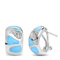 marahlago Surf Larimar Earrings