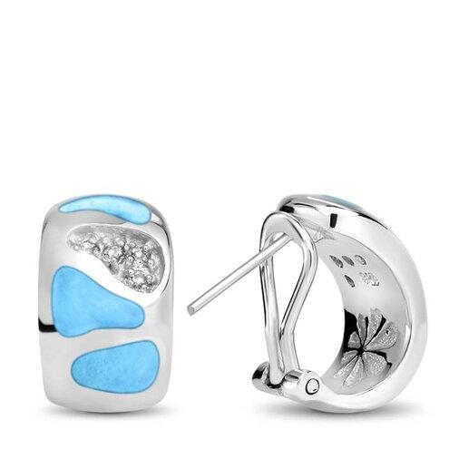 Surf Larimar Earrings
