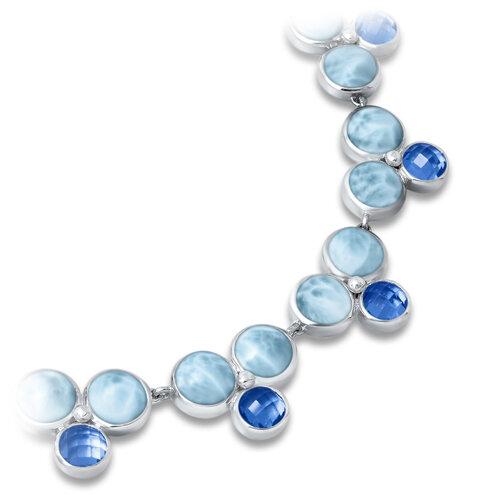 Vienna Larimar Necklace