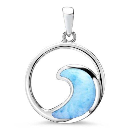 marahlago larimar Wave Larimar Necklace jewelry