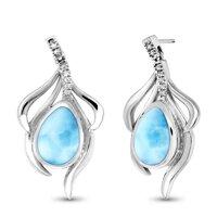 marahlago Willow Larimar Earrings