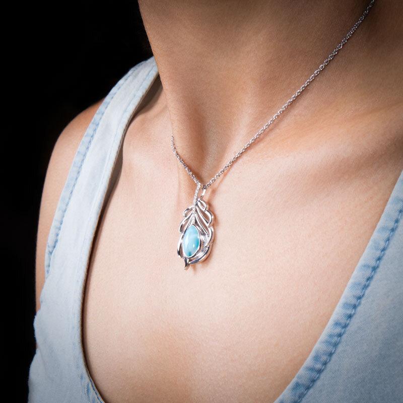 marahlago larimar Willow Necklace jewelry