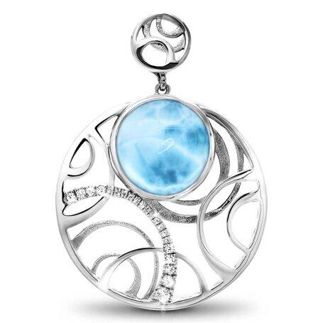 marahlago larimar Zara Necklace jewelry