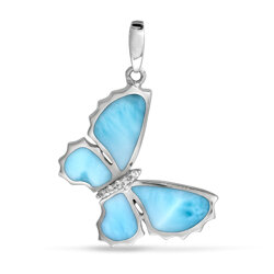marahlago other Butterfly Sapphire Necklace