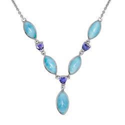 marahlago larimar Callista Larimar Necklace jewelry
