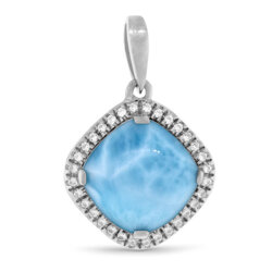 marahlago other Radiance Cushion Larimar Necklace