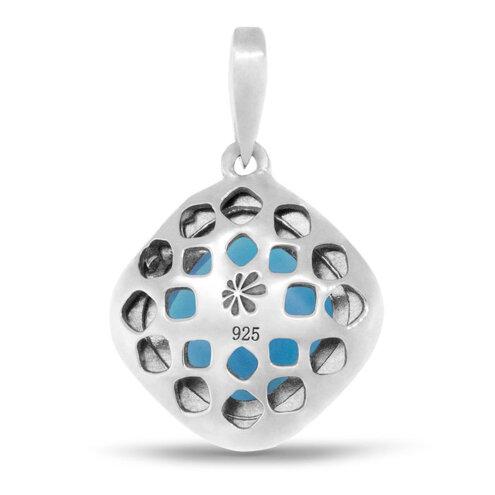 Radiance Cushion Larimar Necklace